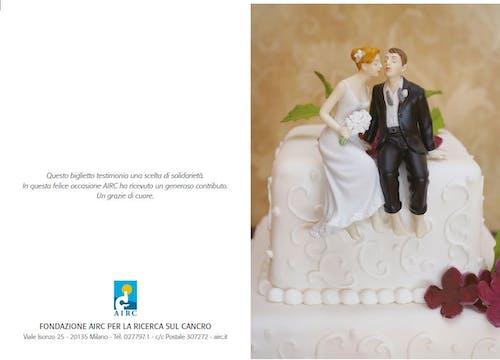 Biglietto augurale Matrimonio - Sposini