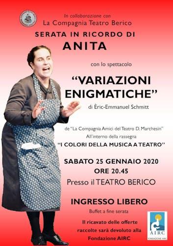 A teatro con Anita nel cuore