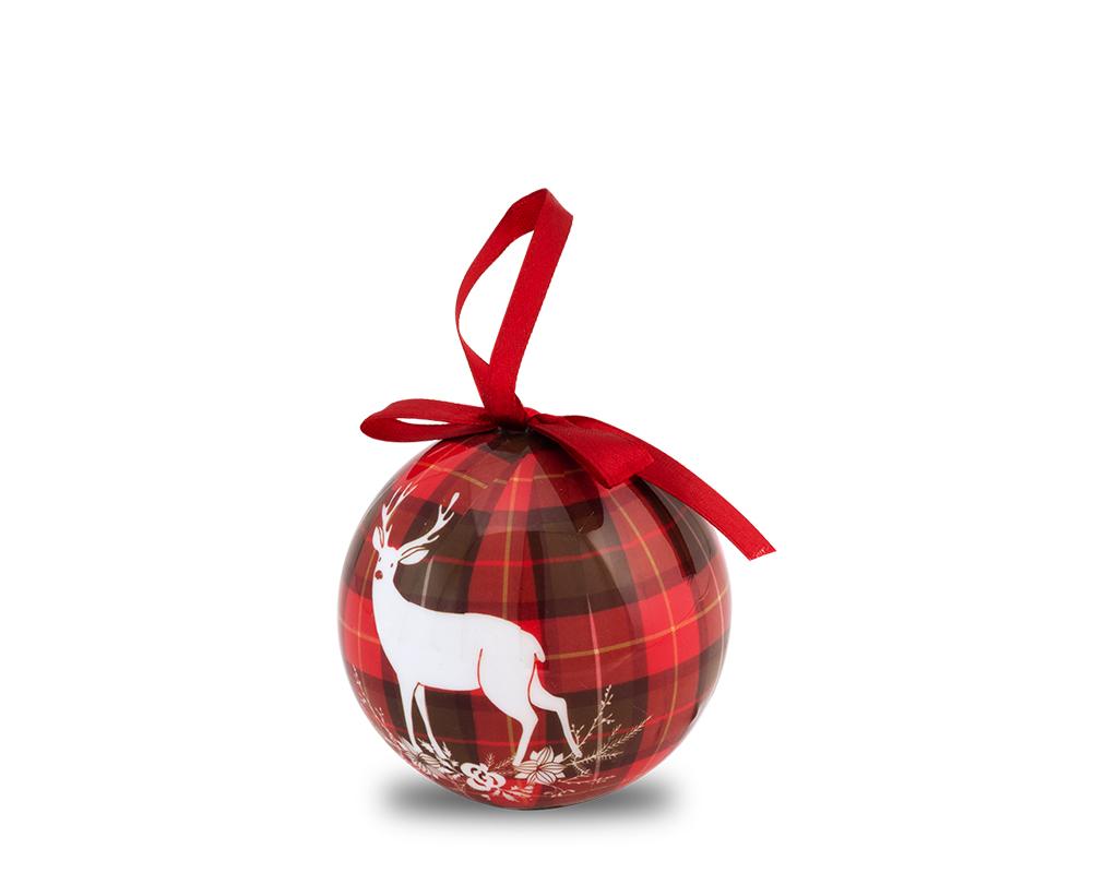Airc Regali Di Natale.Pallina Di Natale Rossa Per Decorare L Albero