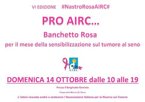 PRO AIRC… al Borghetto Flaminio