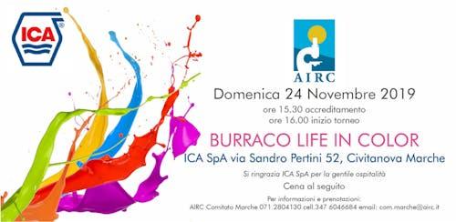 Torneo di Burraco Life in Color pro Airc