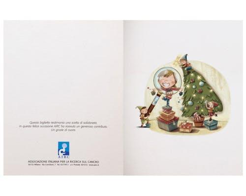 Biglietto Natale Folletti
