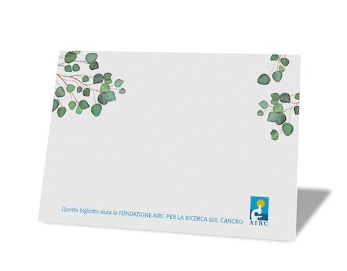 Biglietto personalizzabile - Linea Natura