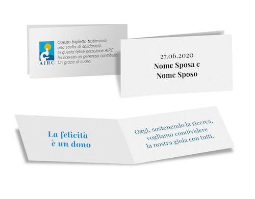 Cartoncino personalizzabile al plurale Natura -10 pezzi