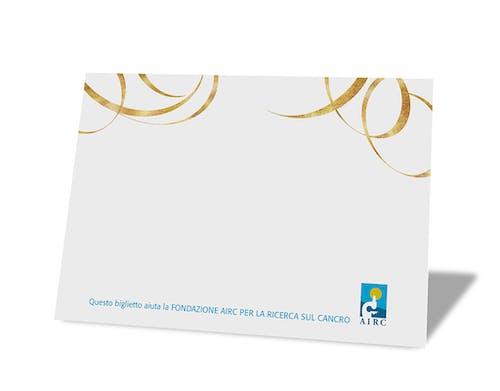 Biglietto personalizzabile - Momenti d'oro