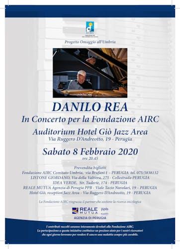 Danilo Rea in concerto per AIRC