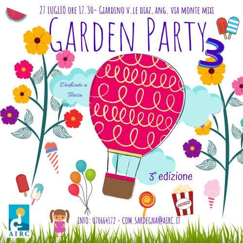 Torna la terza edizione del Garden Party