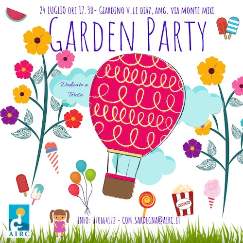 Garden Party – Una merenda per AIRC