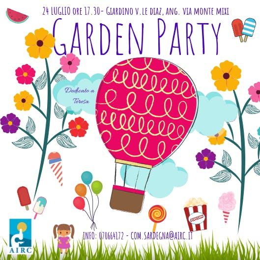 Garden Party – Una merenda per AIRC