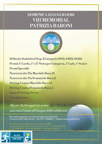 Gara di Golf_VIII Memorial P Baroni
