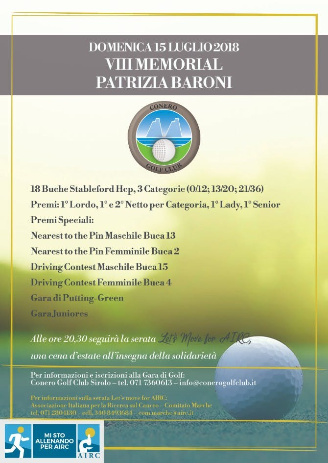 Gara di Golf_VIII Memorial P Baroni