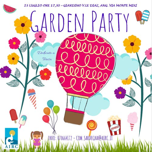 Garden party 2020 – Una merenda per AIRC