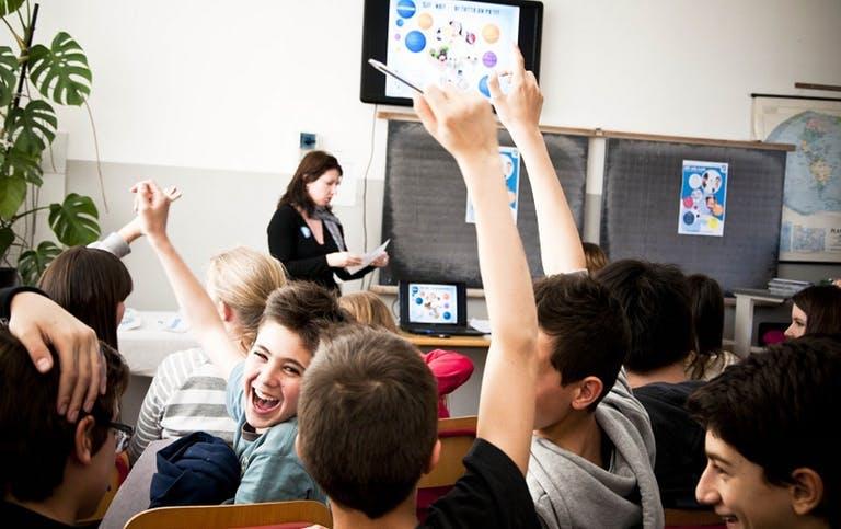 AIRC nelle scuole e nelle università