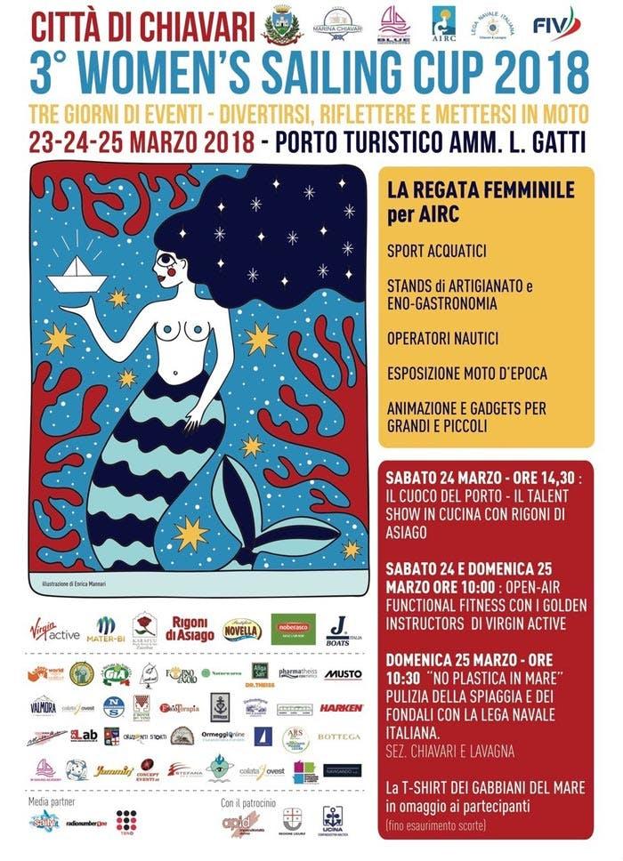III Women's Sailing Cup Italia