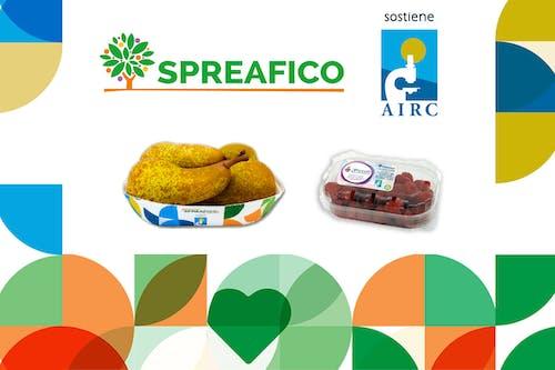 Con pere Abate e lamponi, Spreafico rinnova il suo sostegno alla ricerca oncologica AIRC