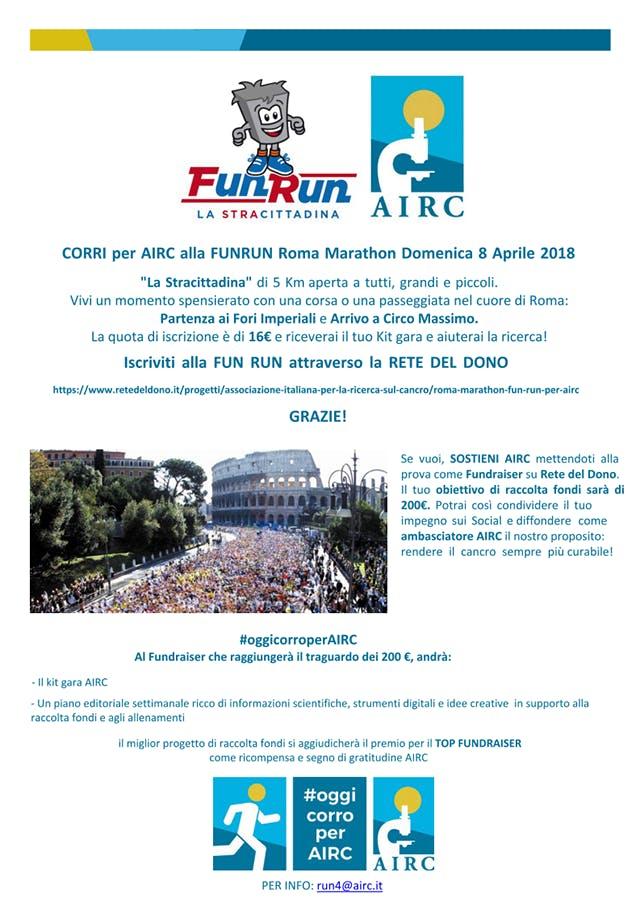 Fun Run Roma Marathon, La Stracittadina