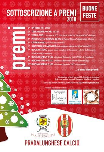 Festa di Natale Polisportiva Pradalunghese