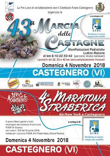 4° Maratona Straberica e 43° Marcia delle Castagne