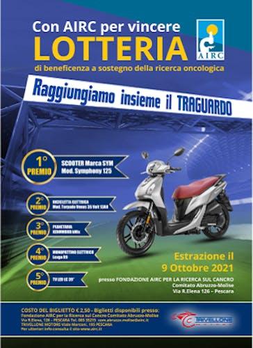 """Lotteria provinciale """"Con Airc per Vincere"""""""