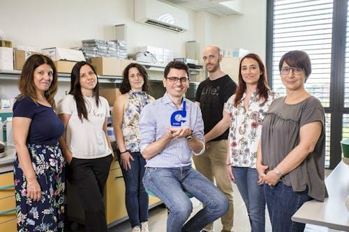 Luca Malorni e il suo gruppo di ricerca