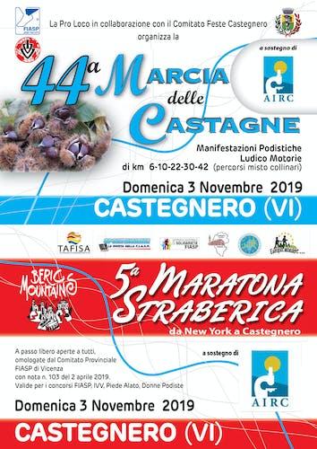 5° Maratona Straberica e 44° Marcia delle Castagne
