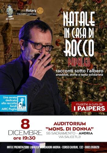 Rocco Papaleo per AIRC