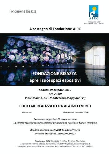 Serata Charity con Fondazione Bisazza