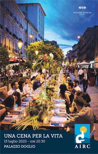 Una cena per la vita – Cena sotto le Stelle