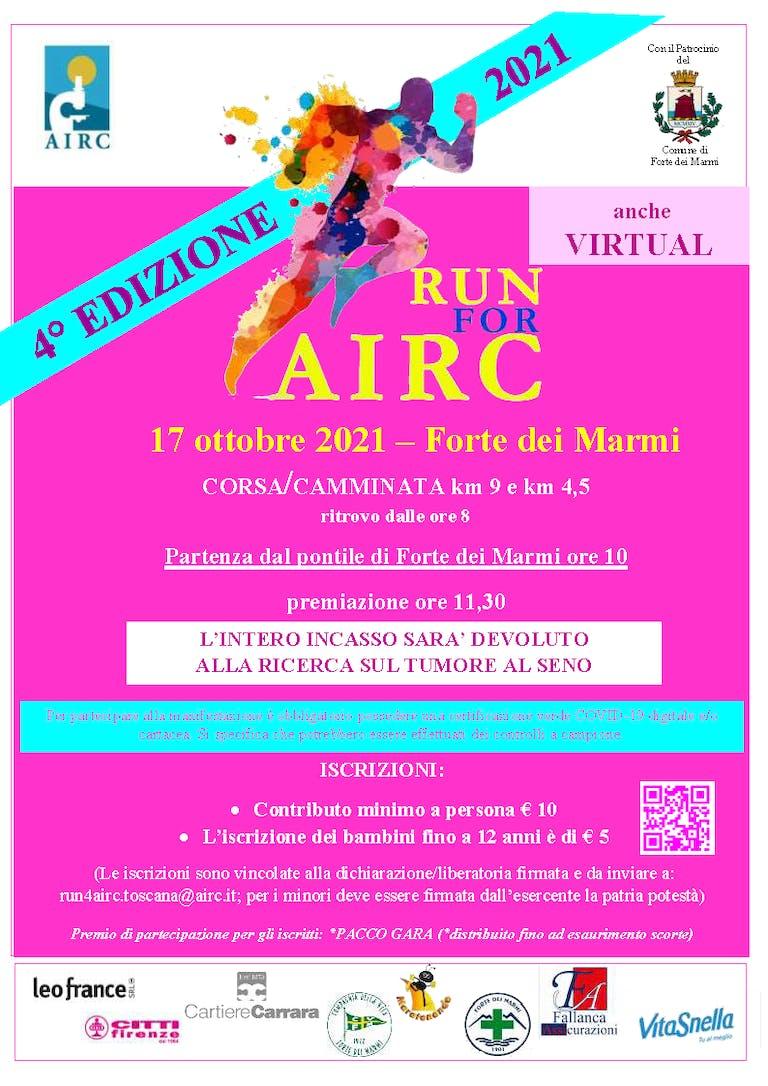 Run 4 AIRC Toscana