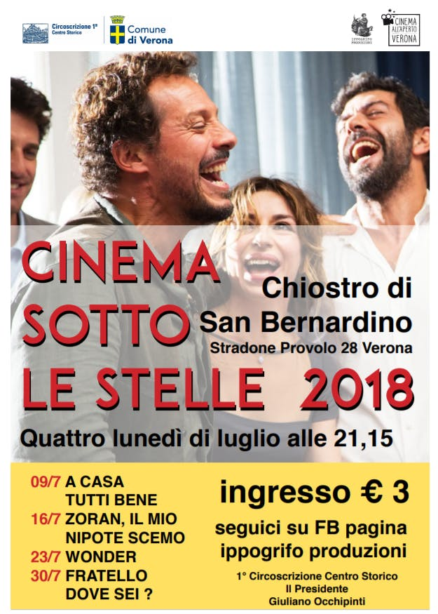 AIRC al cinema sotto le stelle