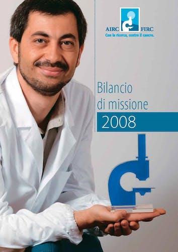 Bilancio di missione AIRC FIRC 2008