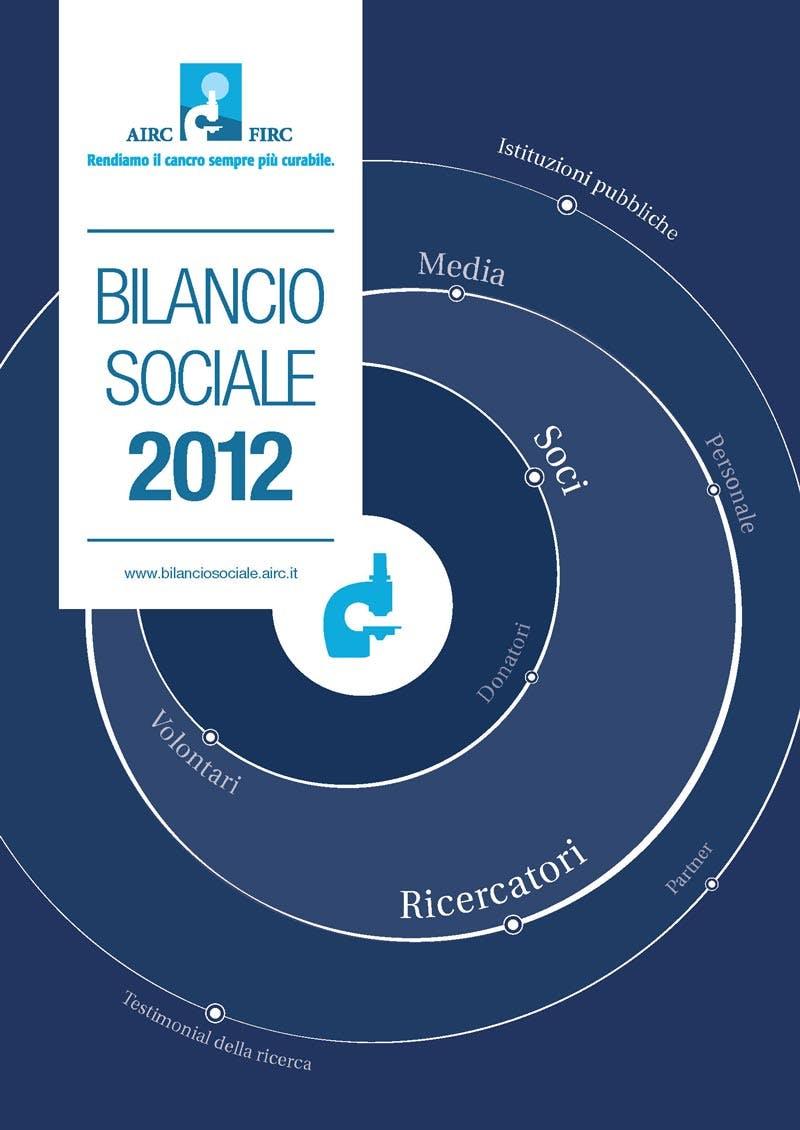 Bilancio sociale AIRC 2012
