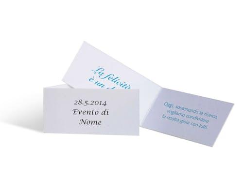 Cartoncino personalizzabile al plurale -10 pezzi