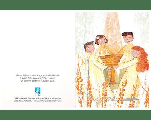 Biglietto augurale Cerimonie - Bambini