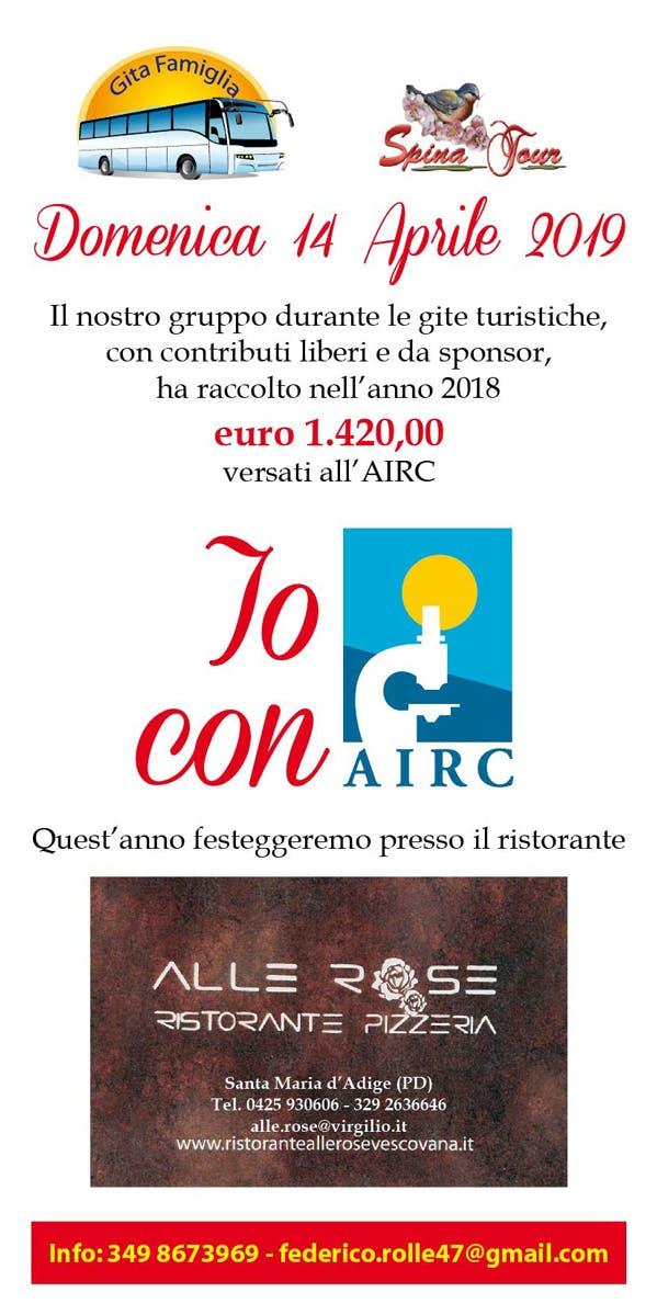 Pranzo per AIRC