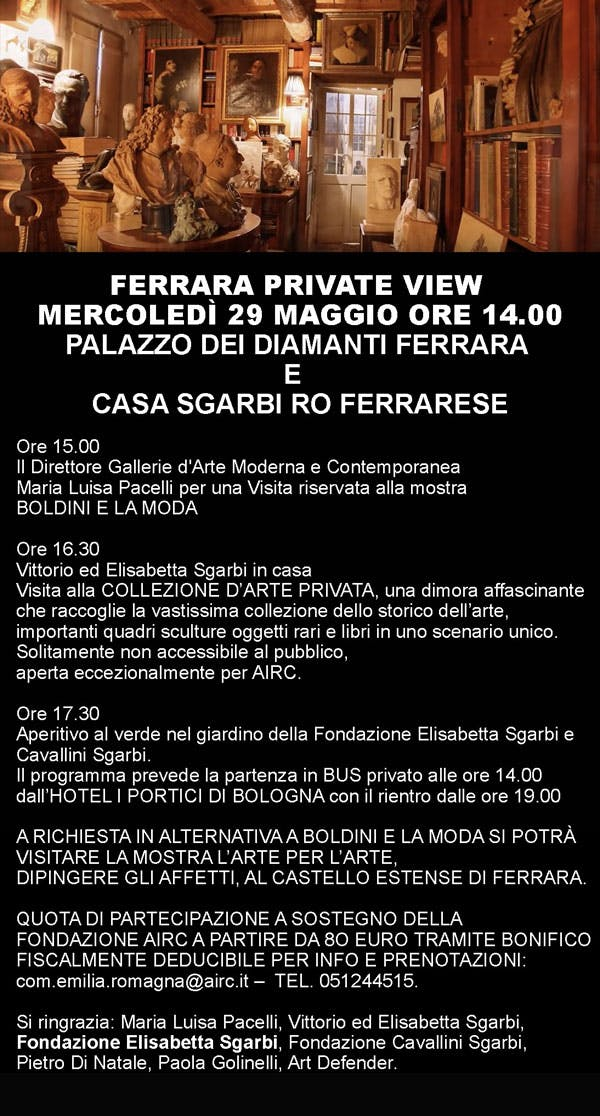 Ferrara Private View