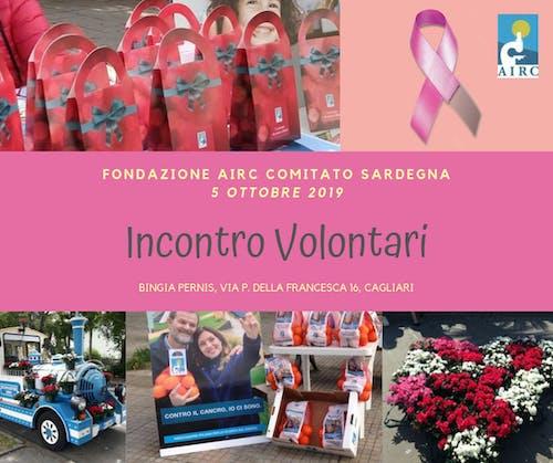 Incontro volontari AIRC Comitato Sardegna