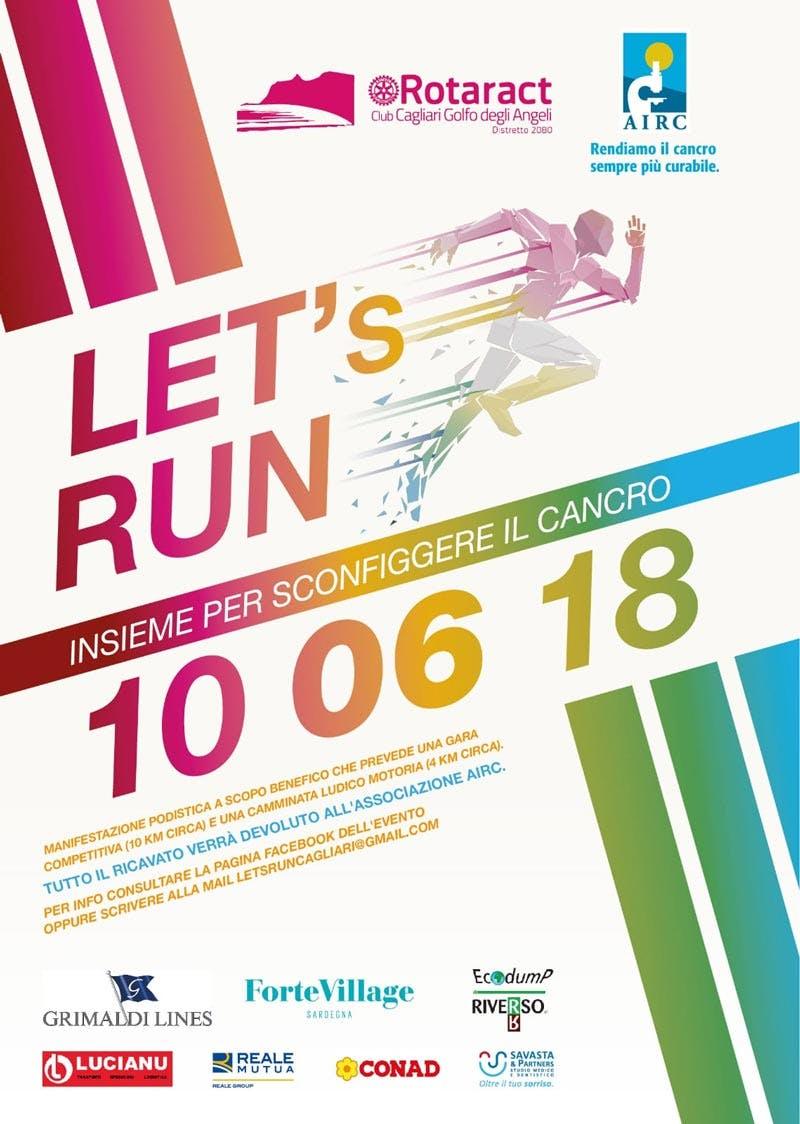 Let's Run - Insieme per sconfiggere il cancro