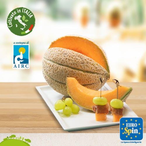 Con i meloni retati Francescon ed Eurospin sostengono anche quest'anno la ricerca di AIRC