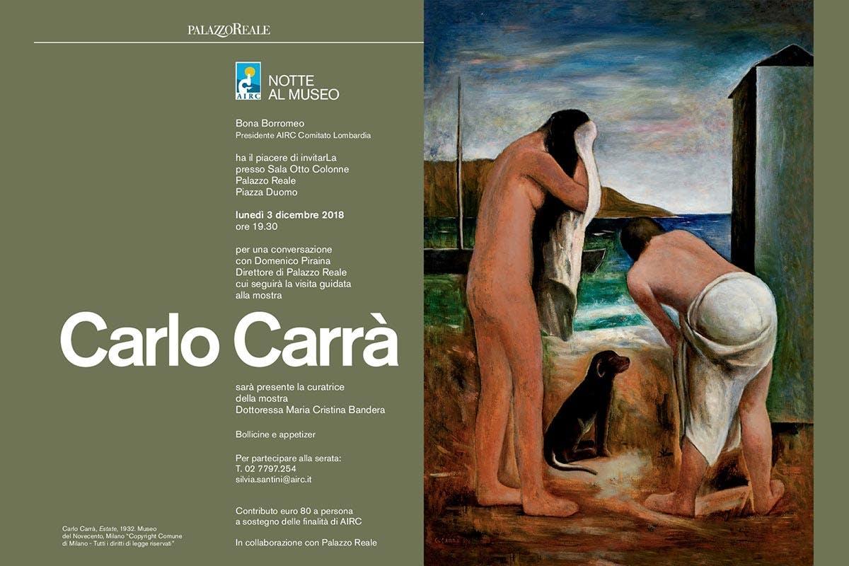 "Notte al Museo ""Carlo Carrà"""