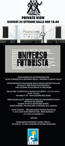 "Private view ""Universo Futurista"""