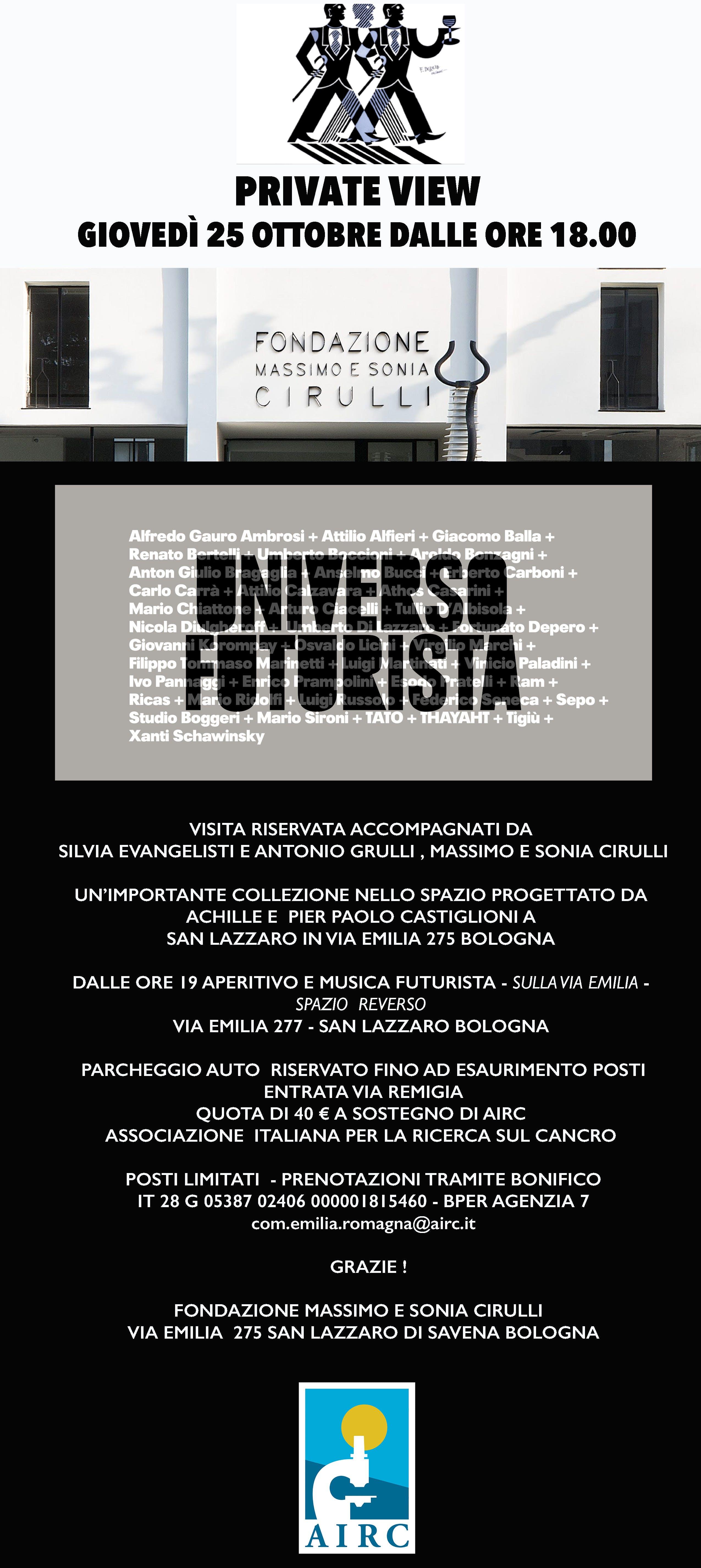 """Private view """"Universo Futurista"""""""