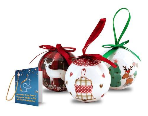 Airc Regali Di Natale.Messaggio Di Auguri Con Pallina Natalizia Airc