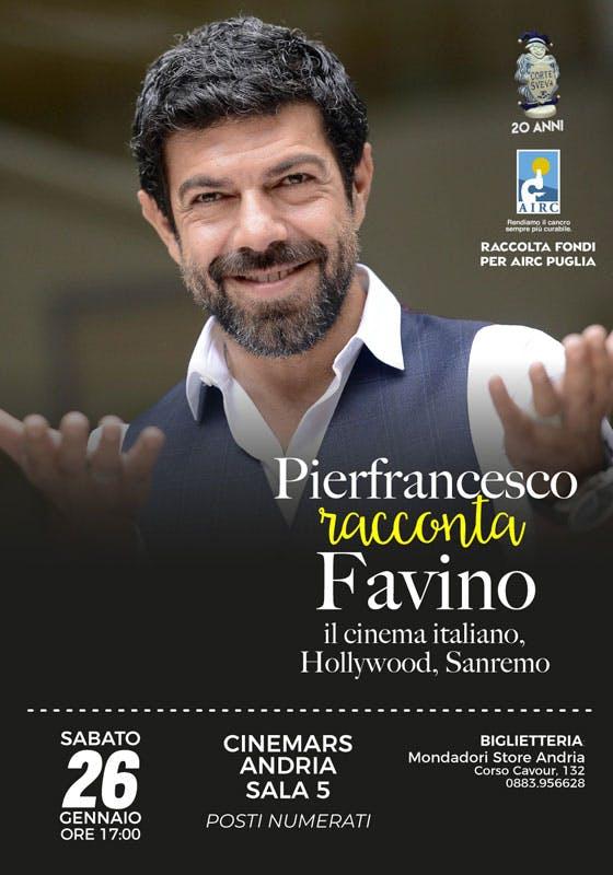 Pierfrancesco Favino racconta