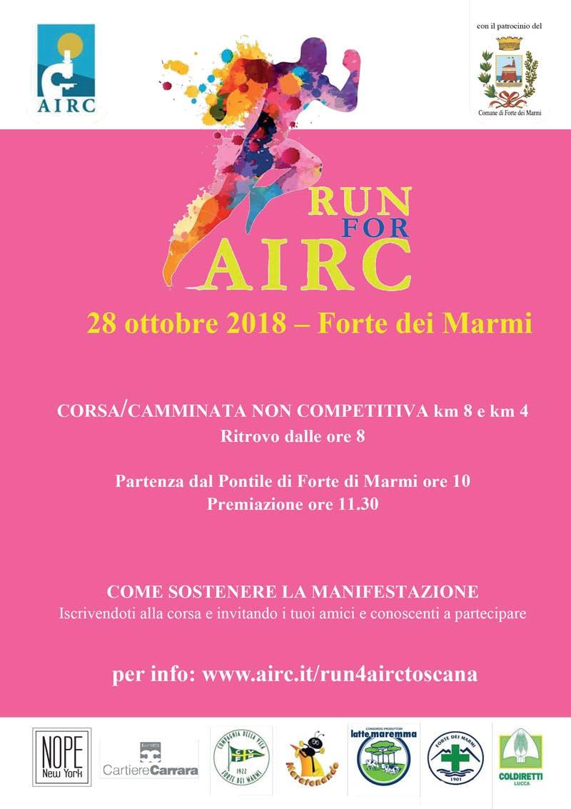 Run for AIRC