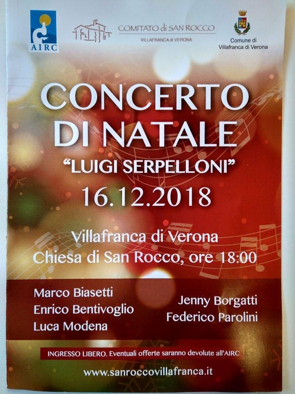 """Concerto di Natale """"Luigi Serpelloni"""""""